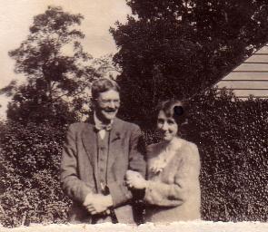 HW Neville and Marjorie Gardner 1922