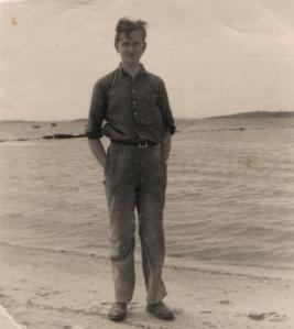 Martin Neveille at Sandbanks