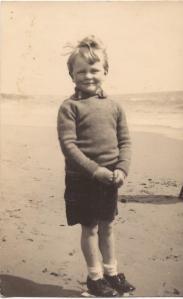 Martin Neville aged 4 yrs 3 months, 1933, Bournemouth