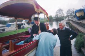 Martin Neville and Richard Norton at Sunbury
