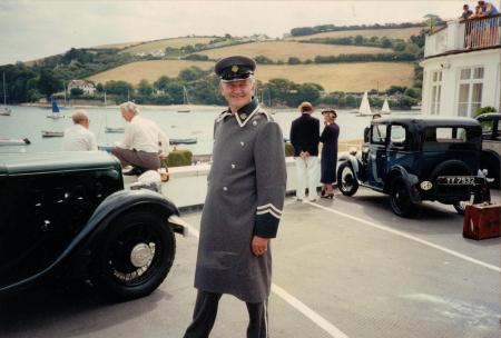 Martin Neville in a wartime drama