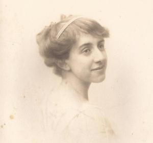 Martin Neville's mother Marjorie portrait