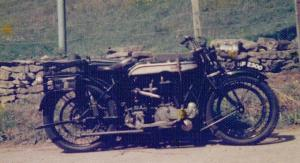 Norton and sidecar