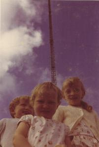 Perry, Tamzin and Sophie age 5